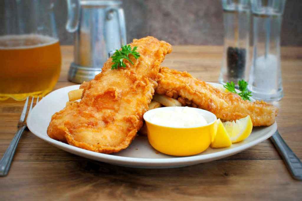 pesce e patatine fritte