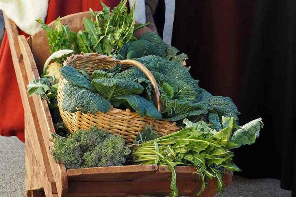 Verdure e ortaggi di dicembre
