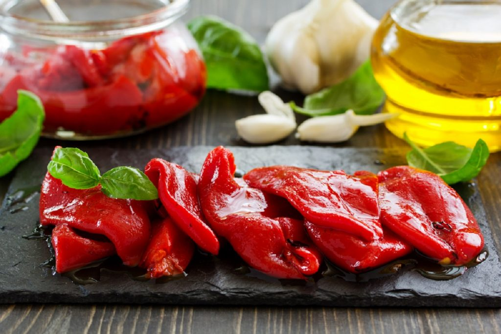 conserva peperoni sott'olio