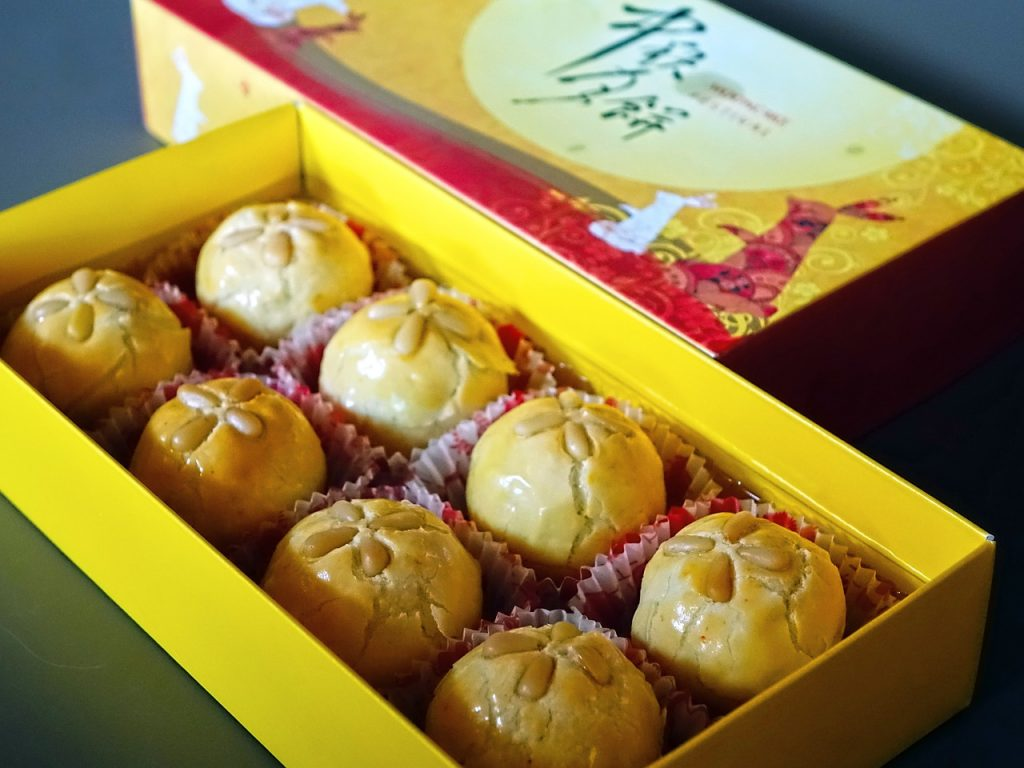 moon cake dolce cinese