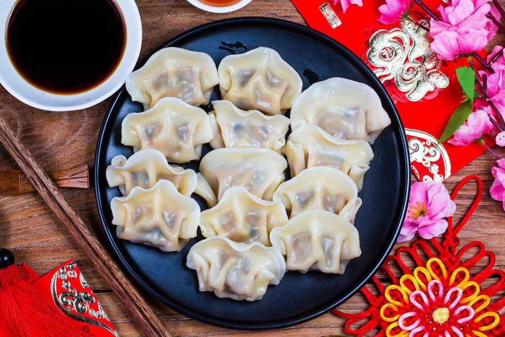Ravioli cinesi Jiaozi