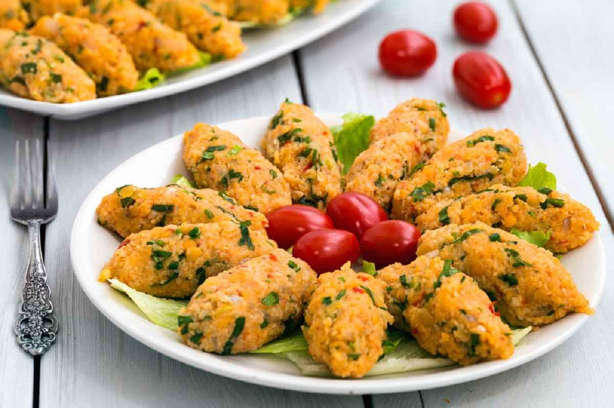 Polpette turche di lenticchie
