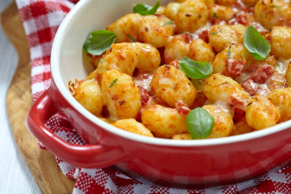gnocchi di patate alla sorrentina