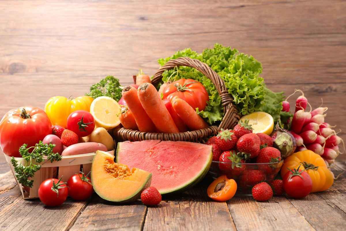 frutta e verdure di stagione a giugno per la spesa