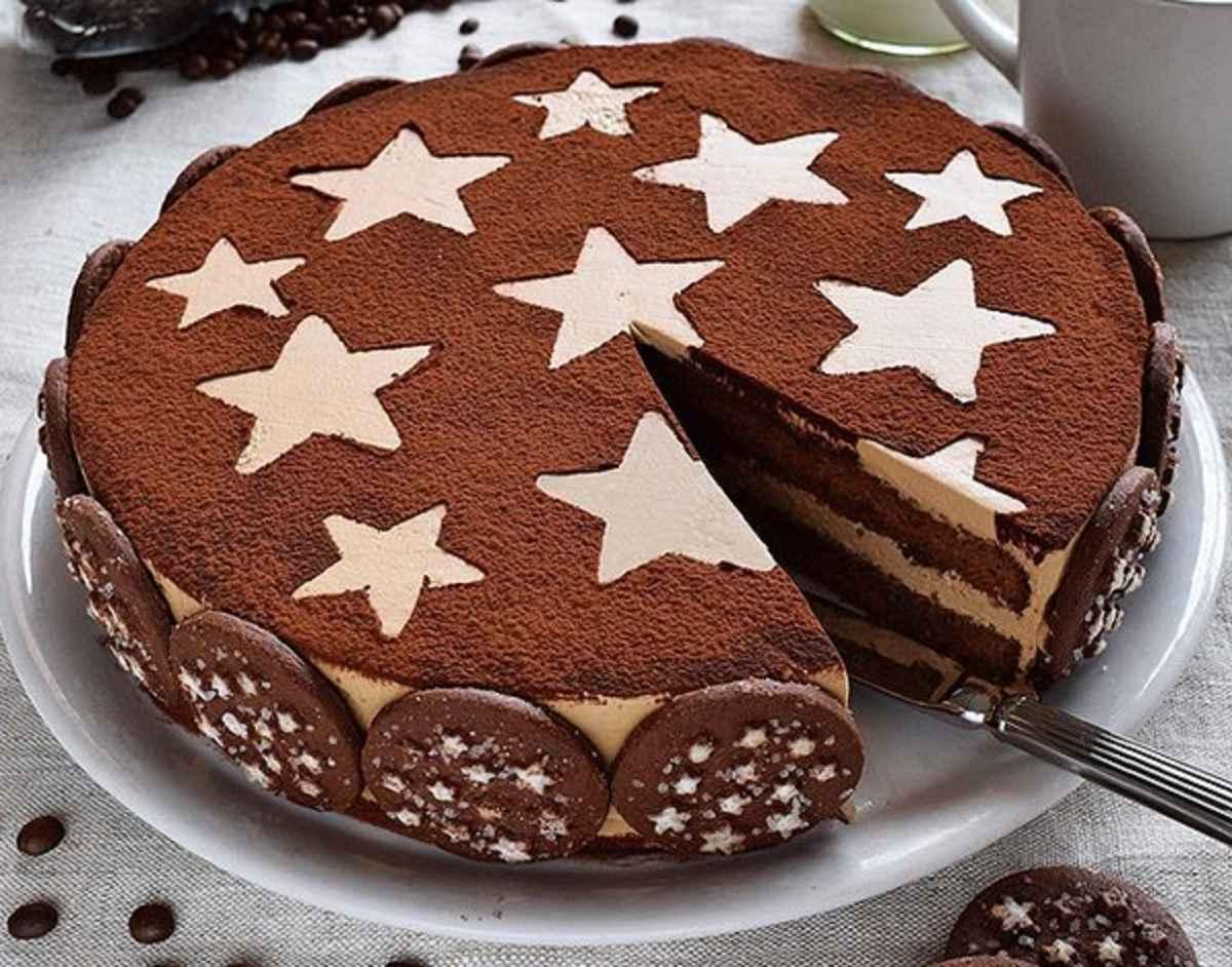 torta pan di stelle al cioccolato e cacao