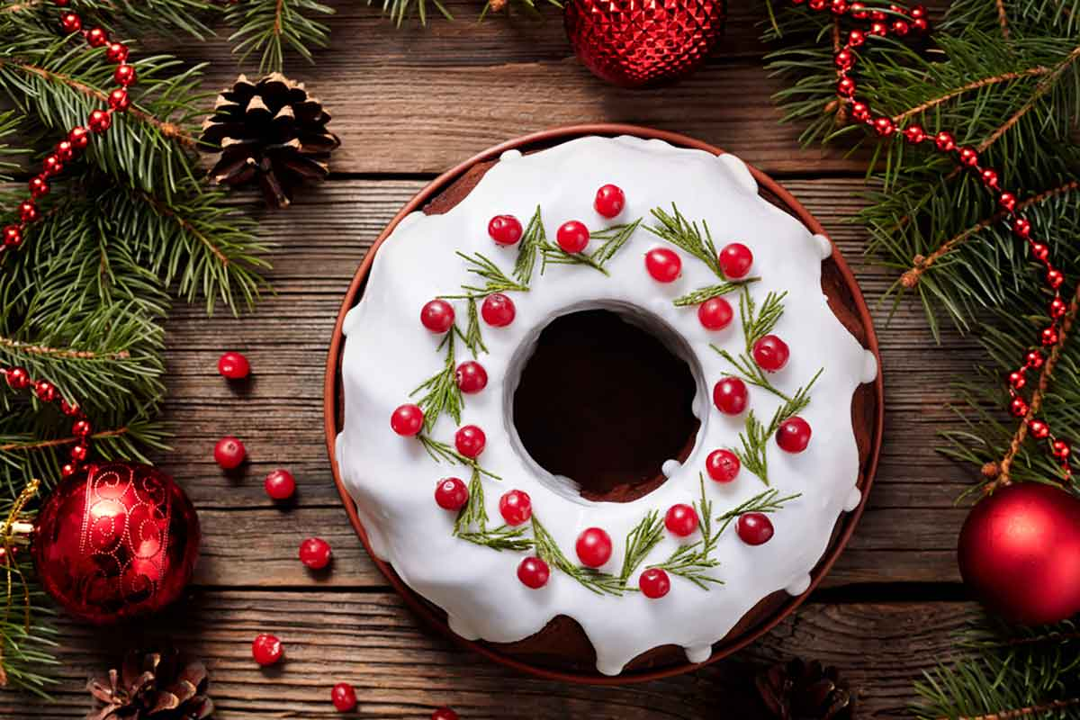 Torte di Natale in pasta di zucchero