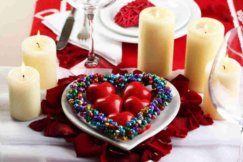 centrotavola san valentino