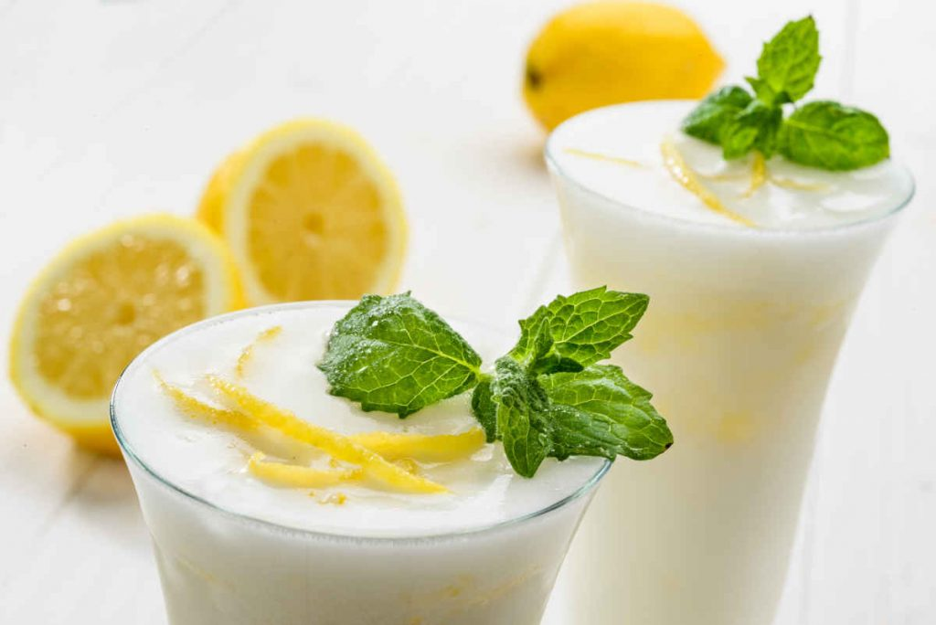 sorbetto al limone da bere