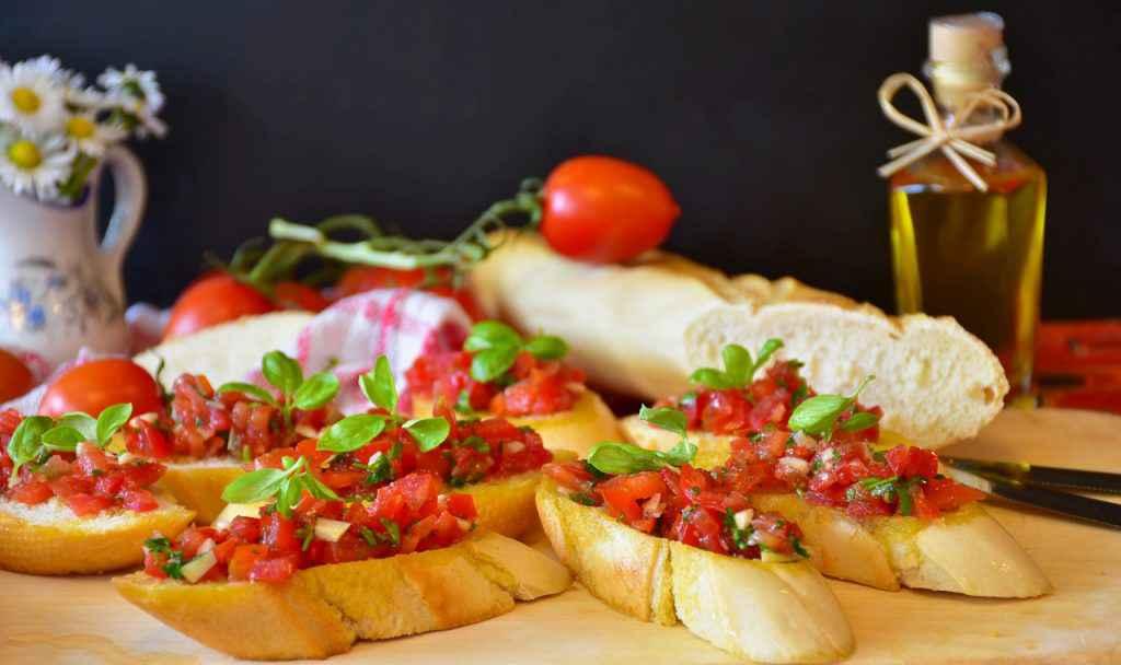 bruschetta pomodori