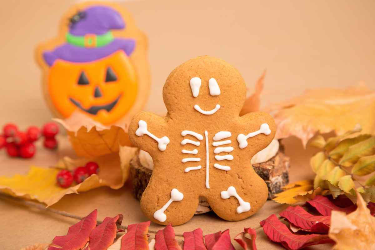 Biscotti scheletro Halloween