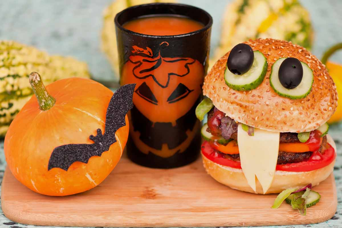 Panini con gli occhi di Halloween