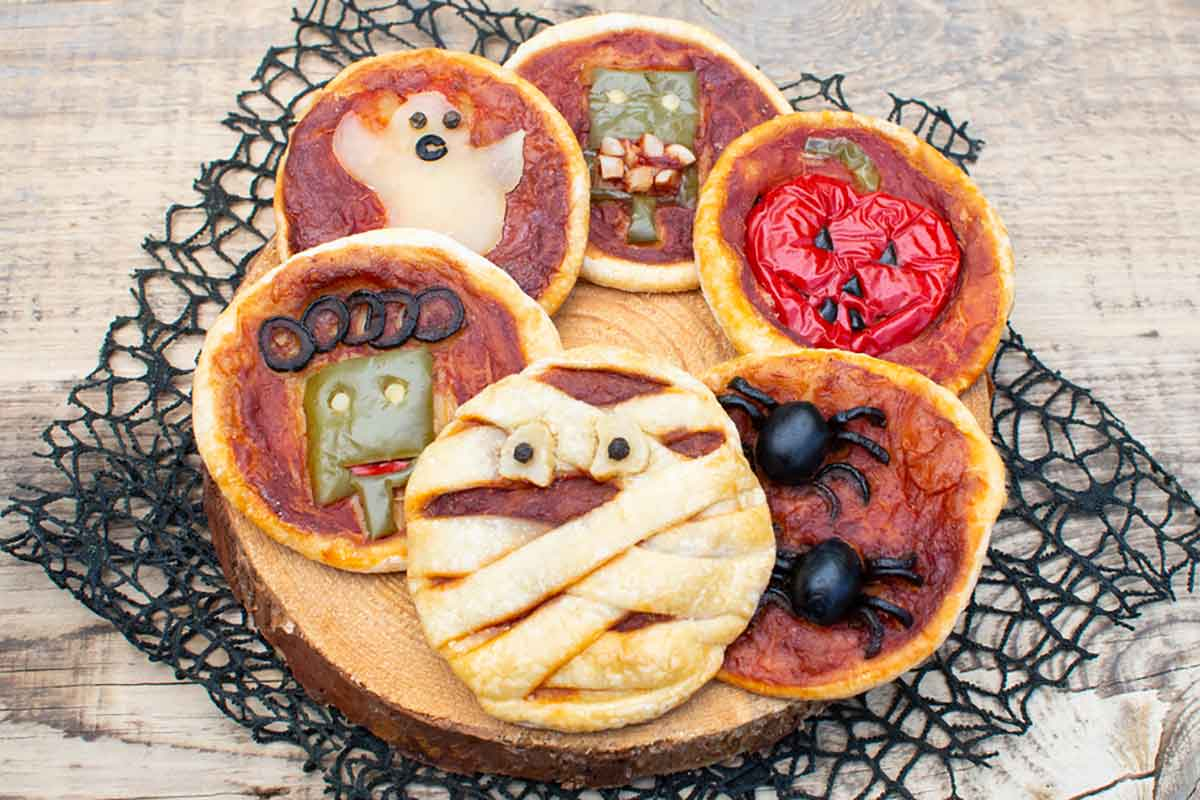 Pizzette zombie