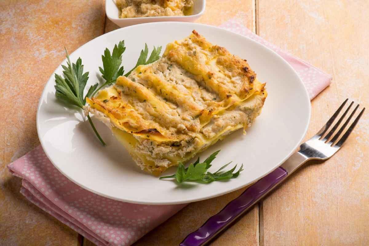 Lasagne ai carciofi e patate