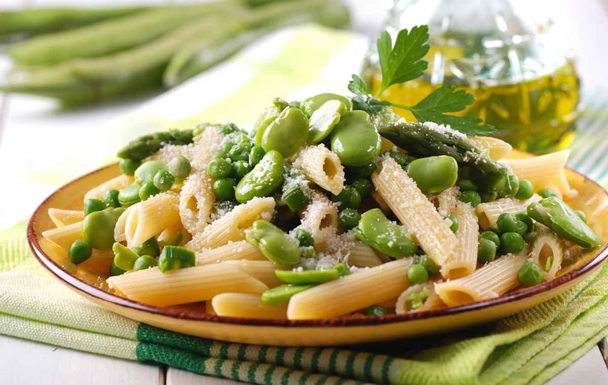 Pasta primavera: la ricetta primaverile con le verdure