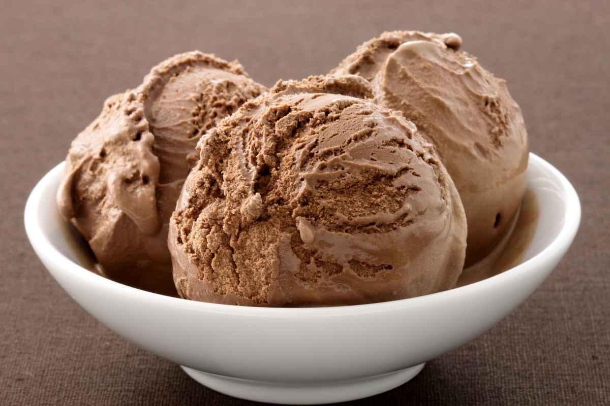gelato alla nutella