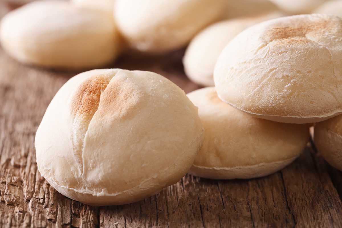 Pane arabo, con il Bimby o in padella senza lievito