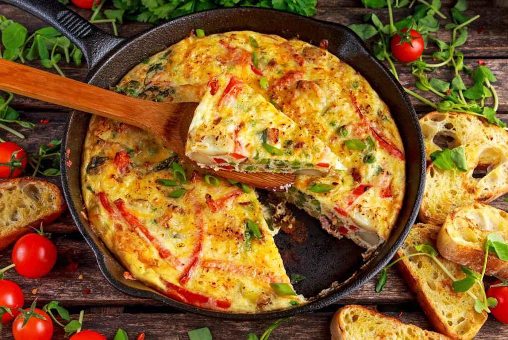 Frittate estive: ricette veloci per fare delle frittate fredde