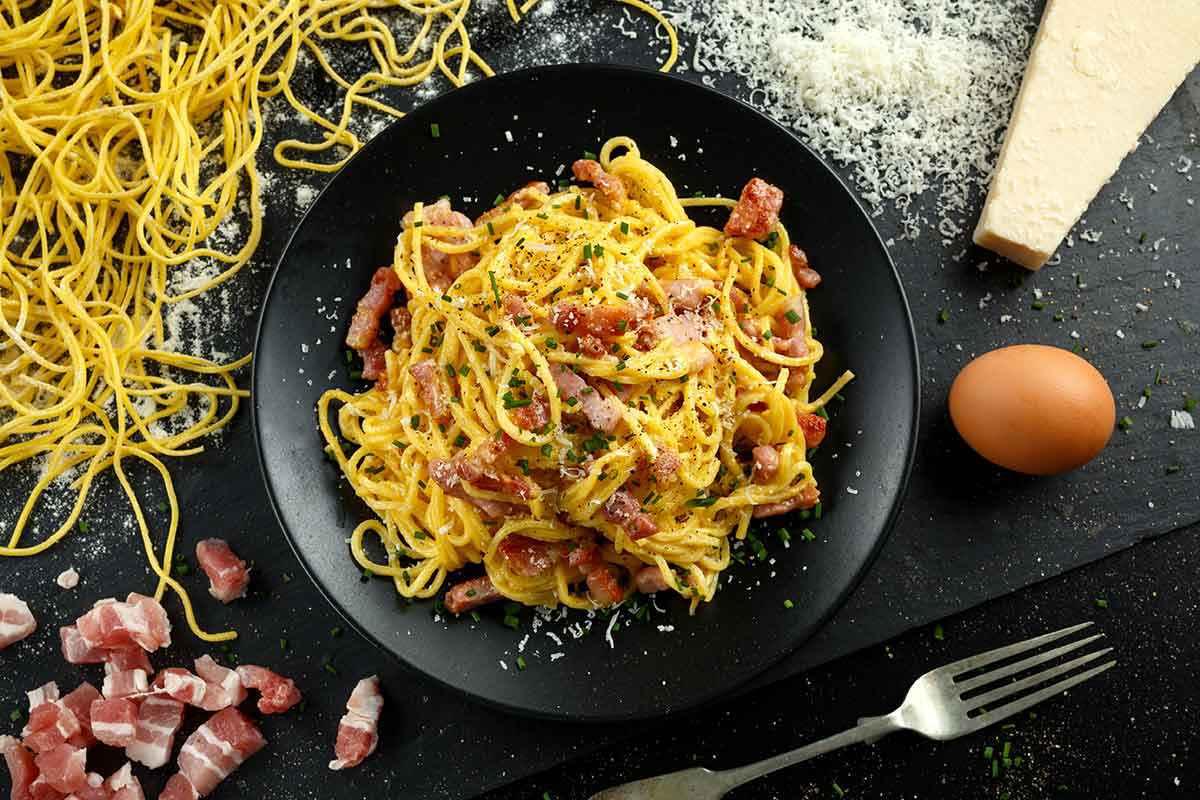 Spaghetti alla carbonara di Alessandro Borghese