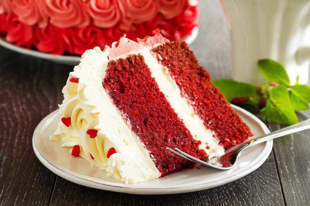 Torta Red Velvet fatta con il Bimby
