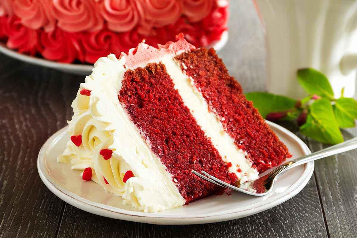 Torta red velvet con Bimby