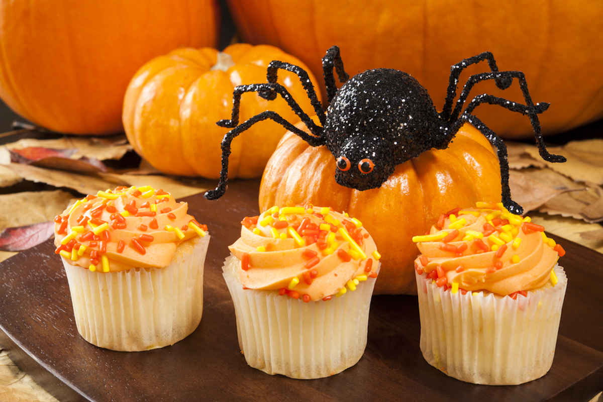 Mini cupcakes di Halloween