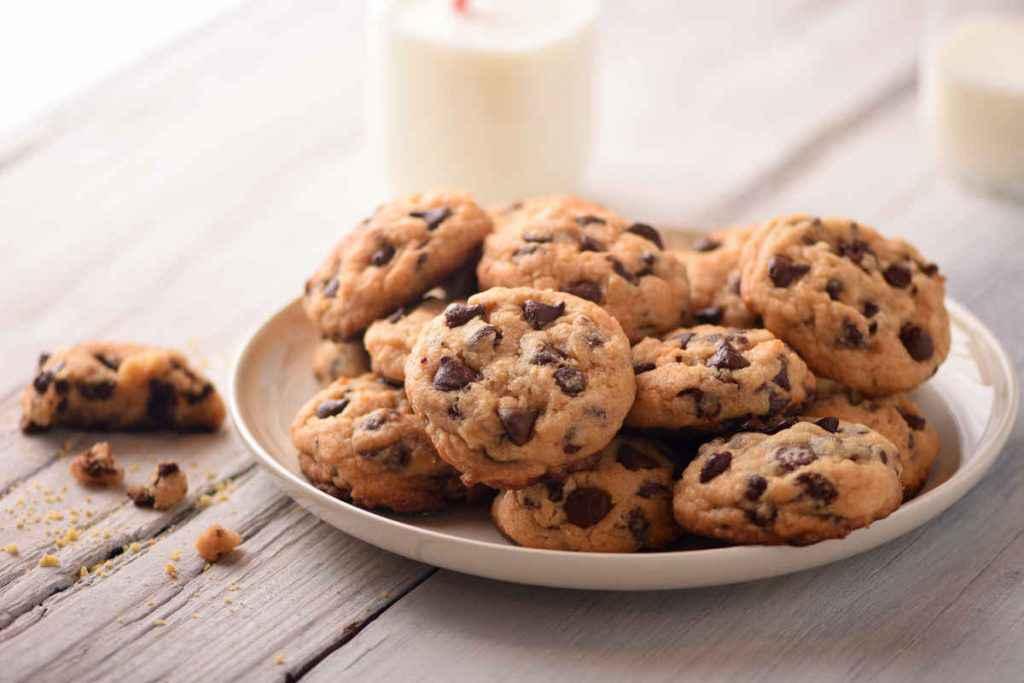 Biscotti al cioccolato cookies