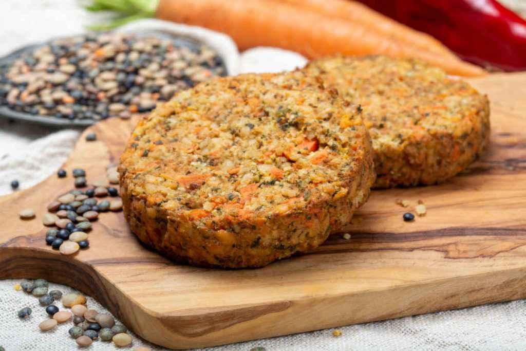 polpette quinoa e lenticchie