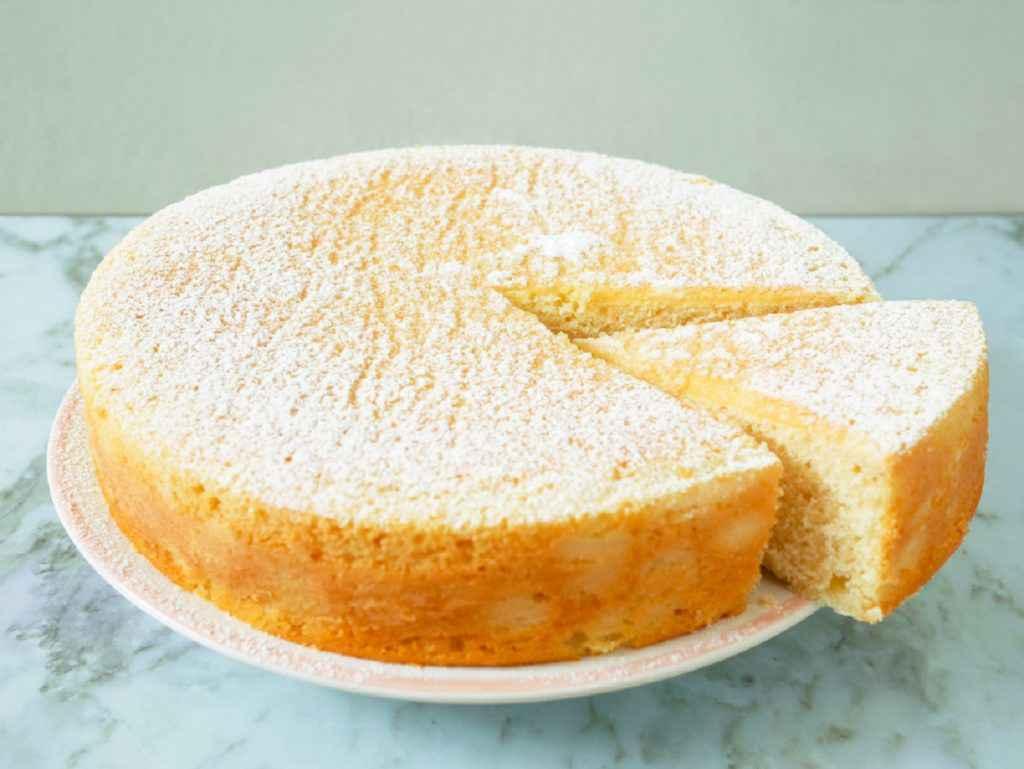 torta all'acqua senza uova