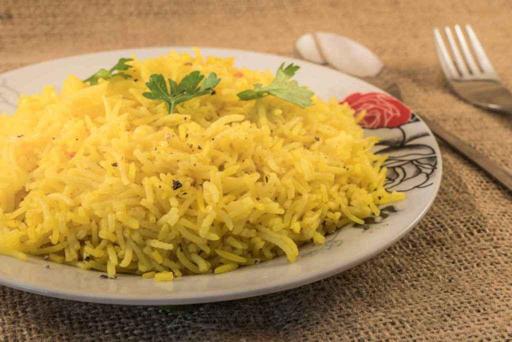 riso basmati al curry