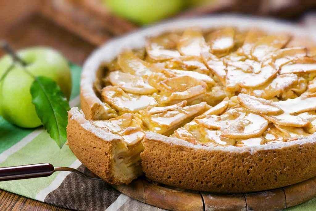Torta di mele per diabetici
