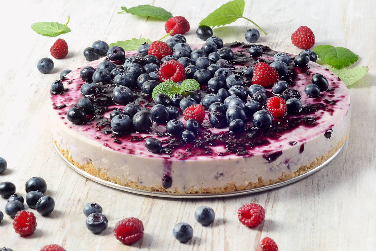 Cheesecake ai frutti di bosco