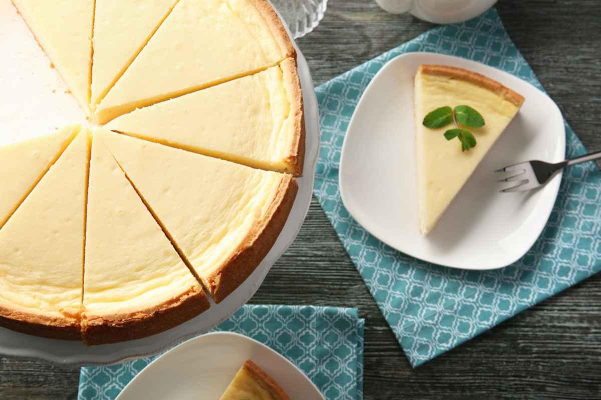 Cheesecake con il mascarpone