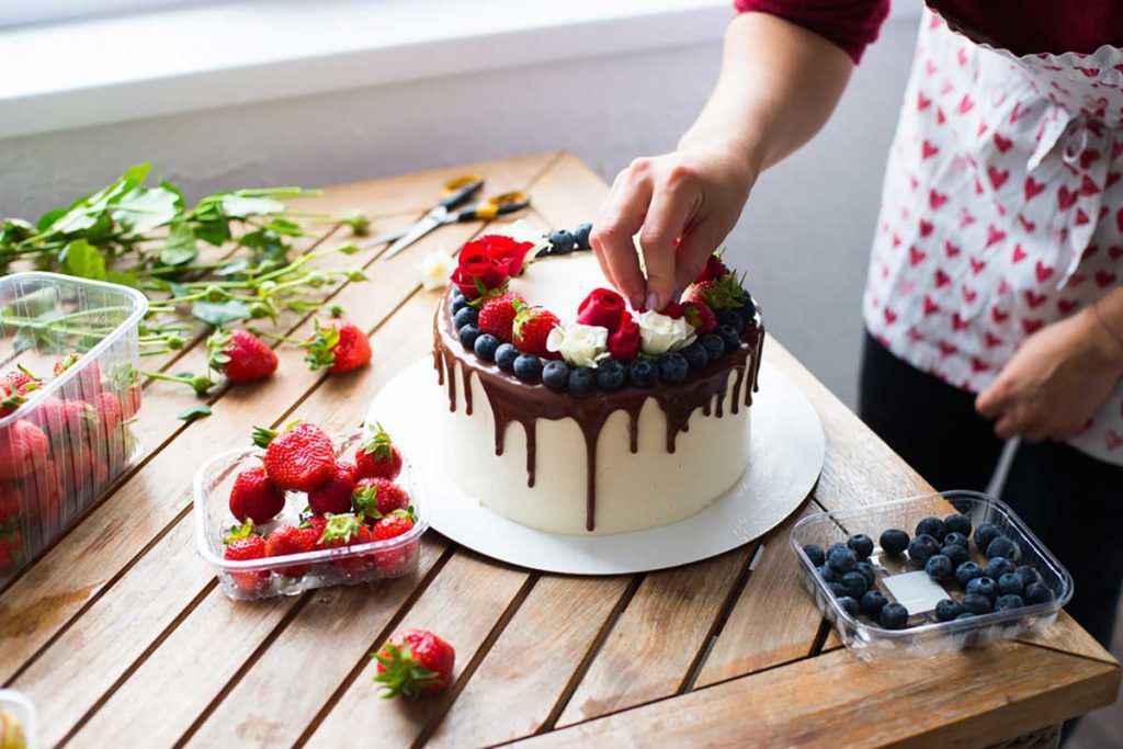 Torta al cioccolato di compleanno