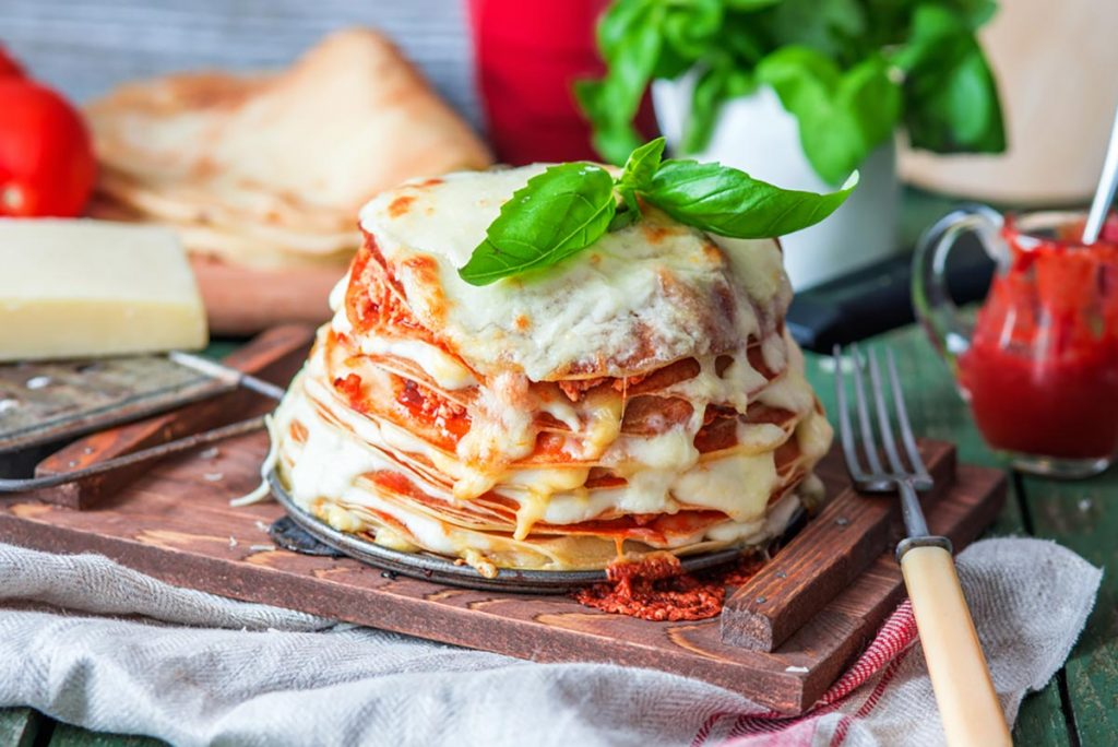 Lasagne crepes