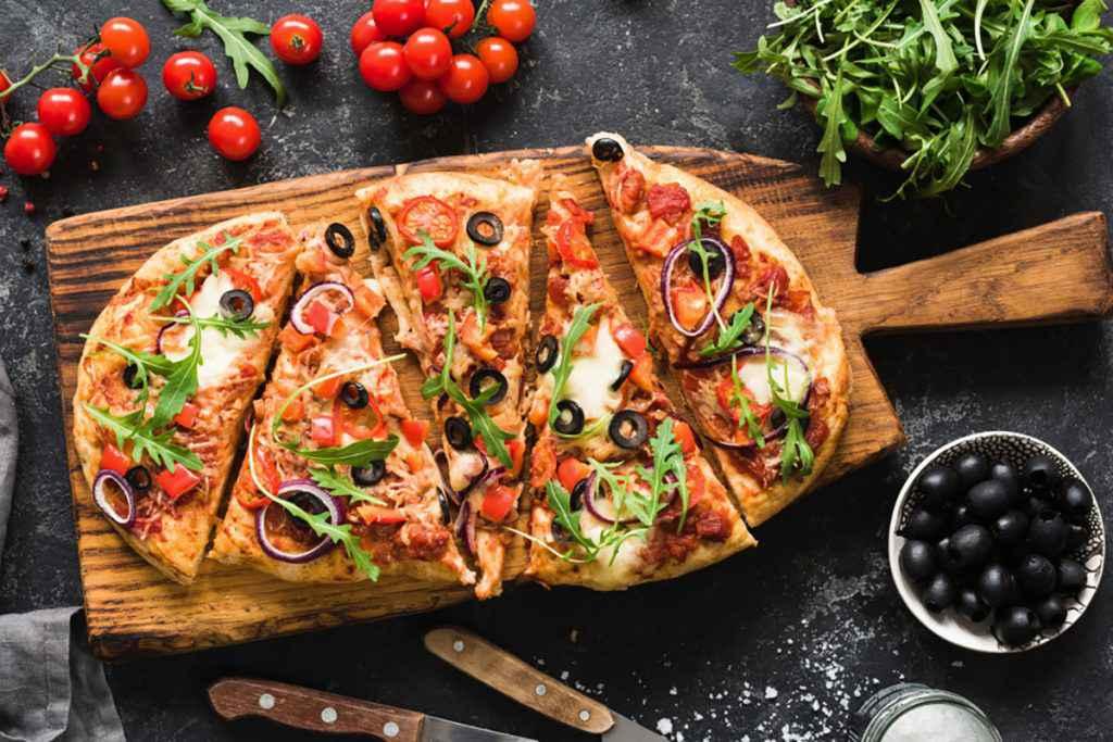 Impasto per pizza a lunga lievitazione