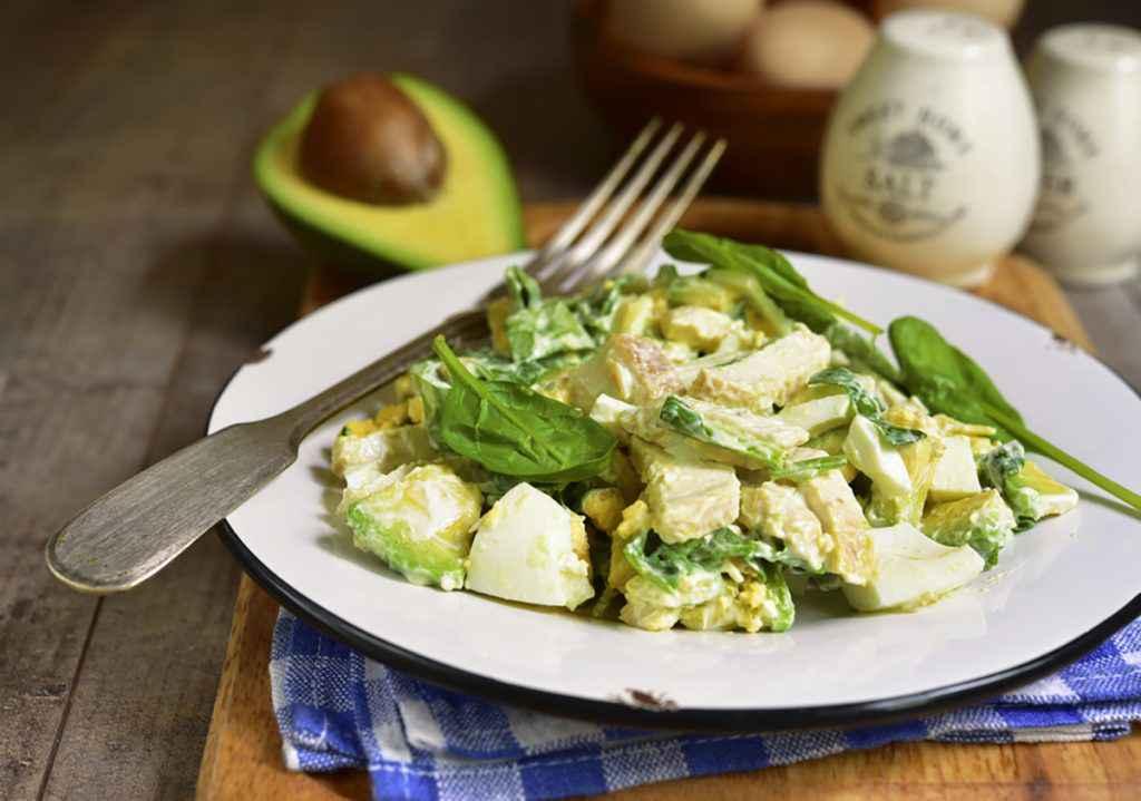 Patate lesse con avocado