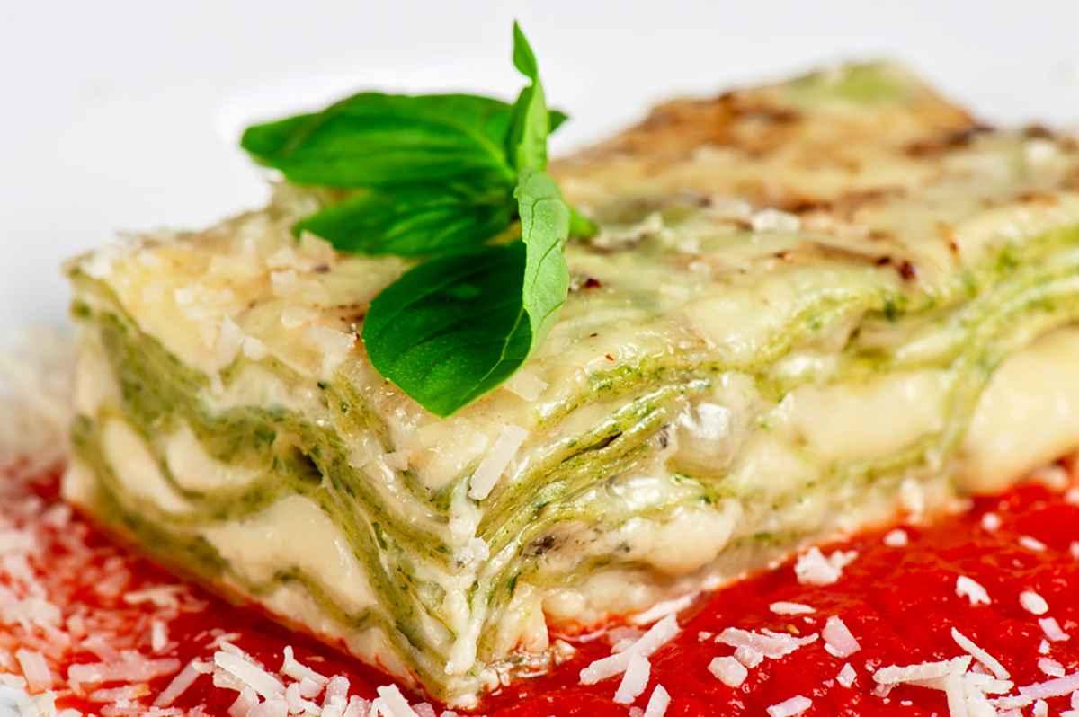 Lasagne verdi ai formaggi