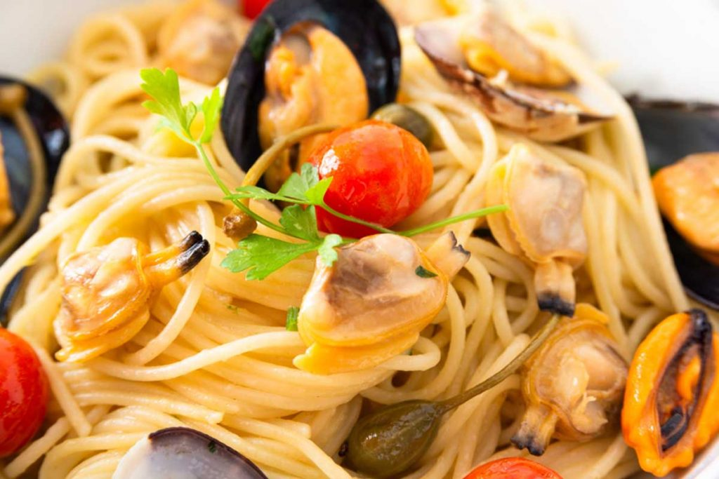 spaghetti ai frutti di mare: ricetta