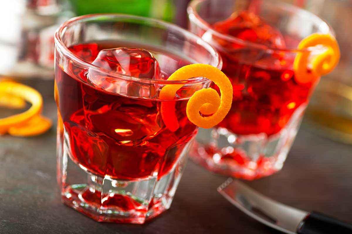 Americano cocktail Milano Torino