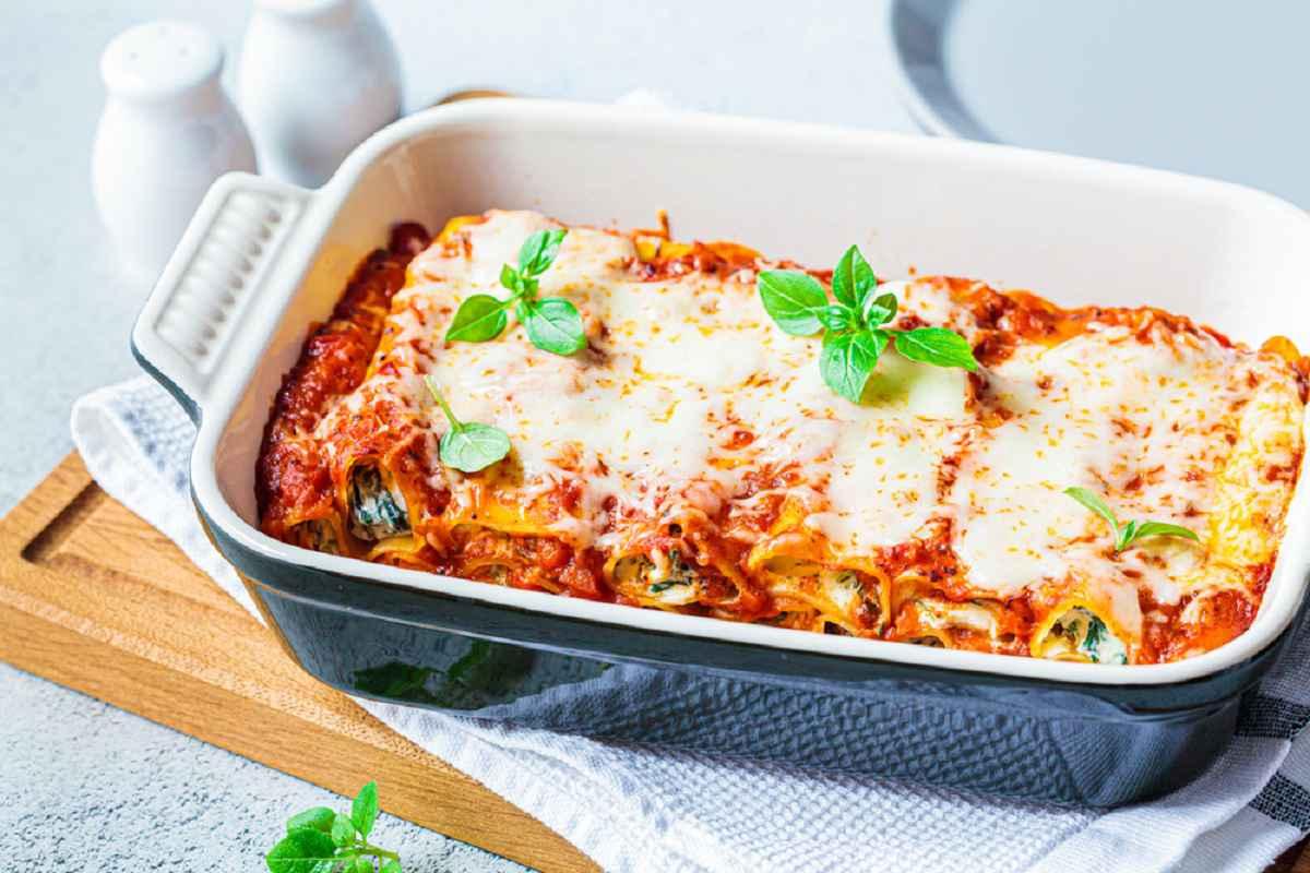 Cannelloni vegetariani: 10 ricette di primi sfiziosi