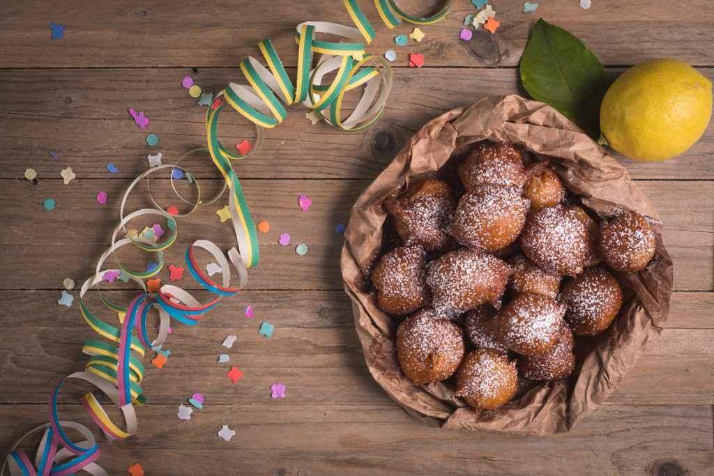 castagnole con il bimby per i dolci di carnevale