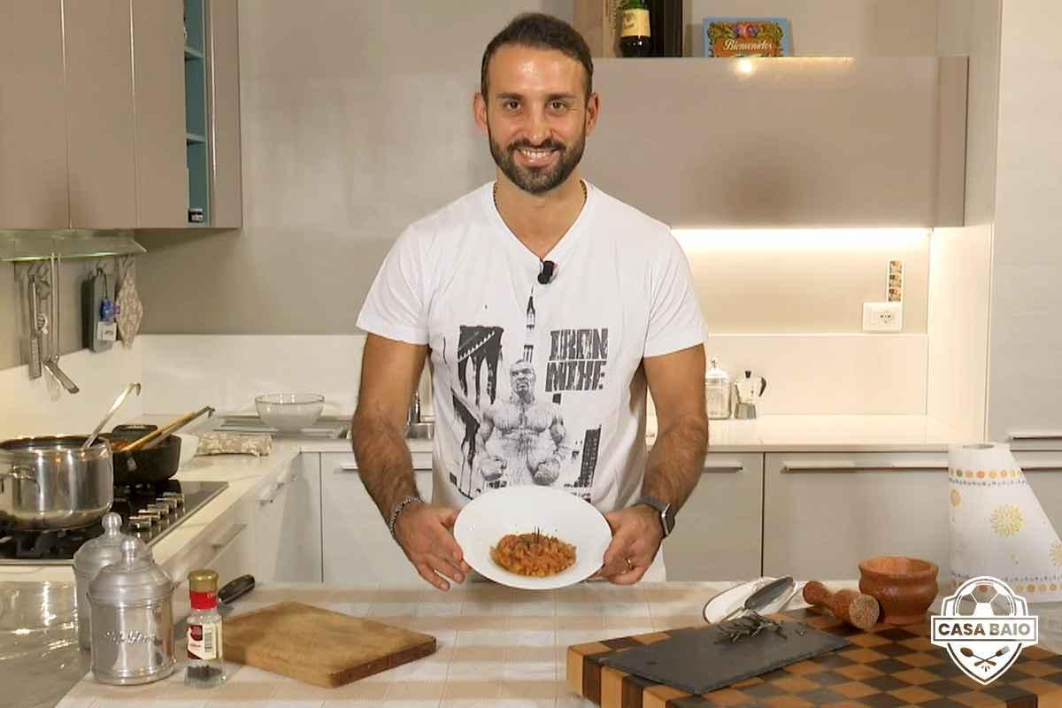 CasaBaio: la ricetta della pasta e fagioli di Manuele Baiocchini