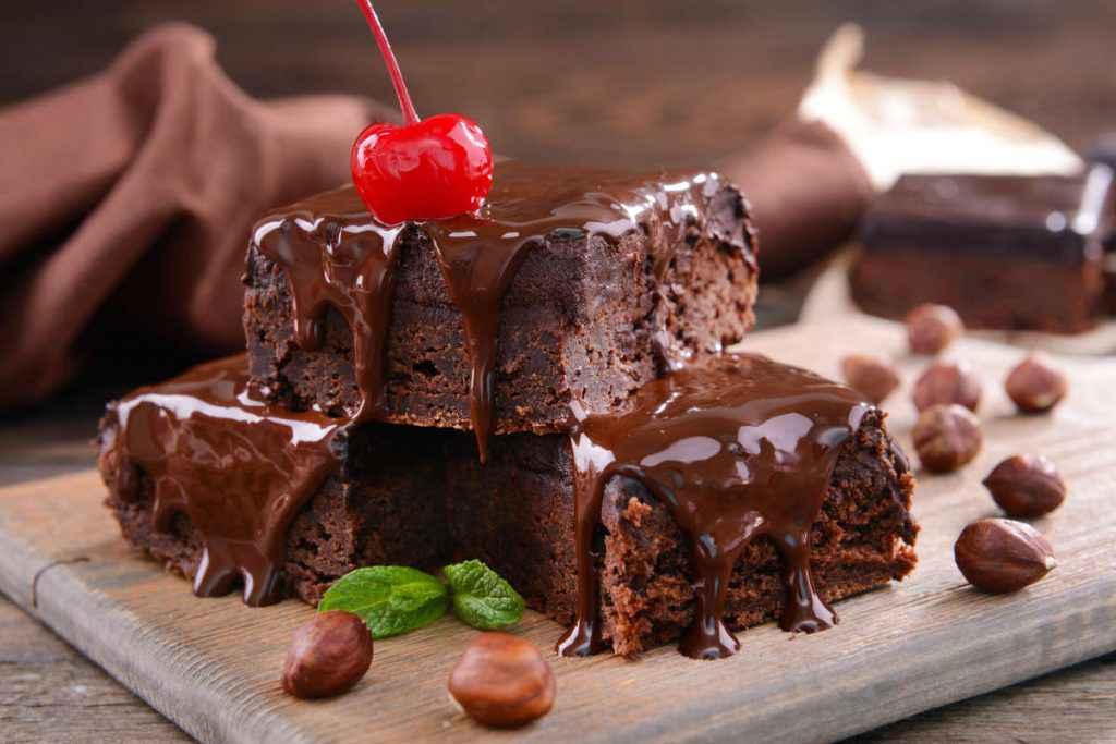 brownies alla nutella e nocciole