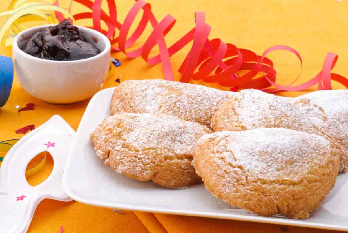 dolci di carnevale al forno