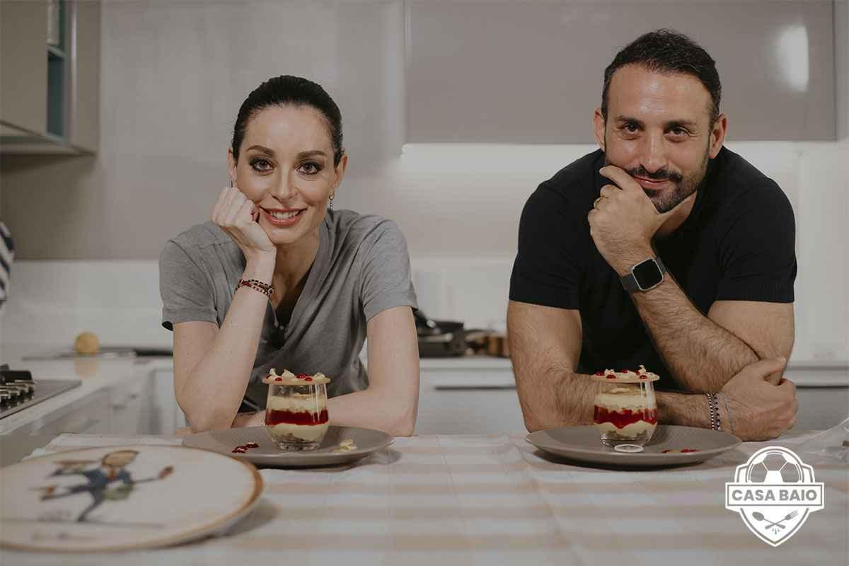 Debora Massari a CasaBaio: la figlia di Iginio presenta il suo dessert Esplosione di primavera
