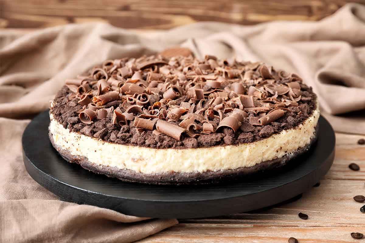 Cheesecake con Pan di stelle
