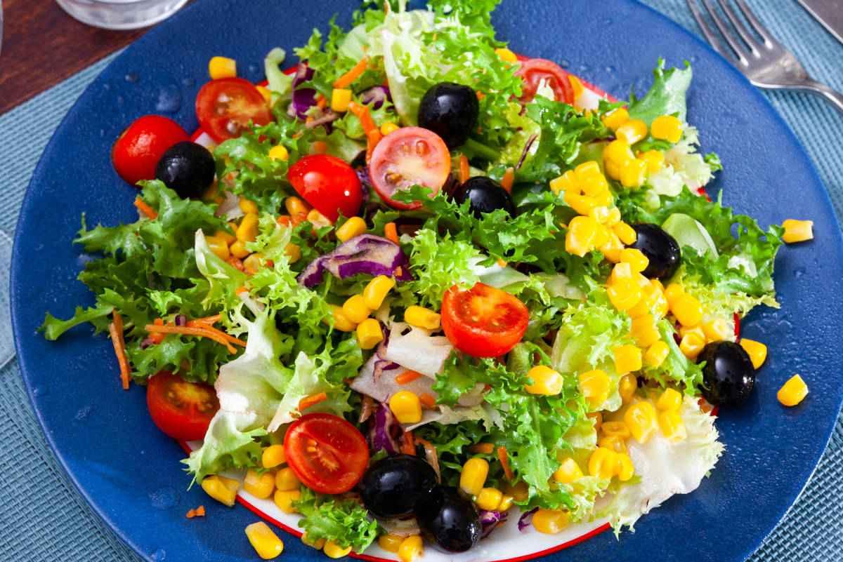 insalata mais e olive