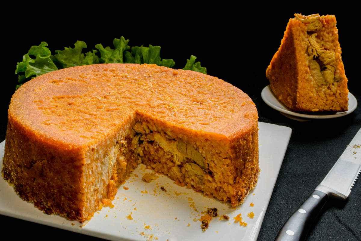 torta di riso salata