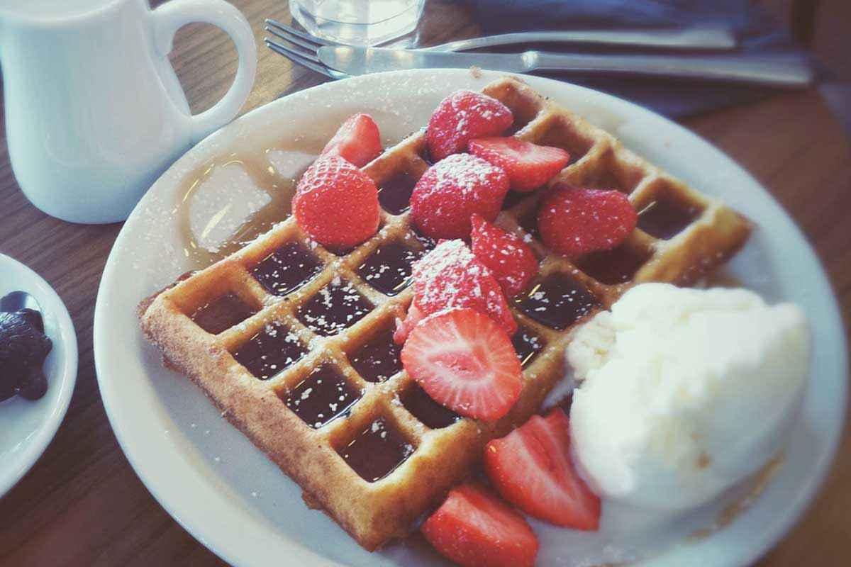 Waffle senza uova