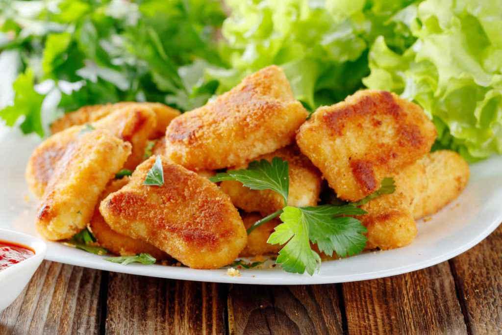 bocconcini di pollo al limone al forno